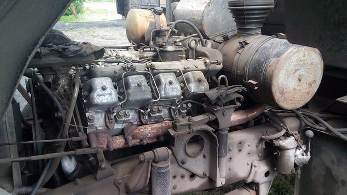 КАМАЗ 5320 двигатель