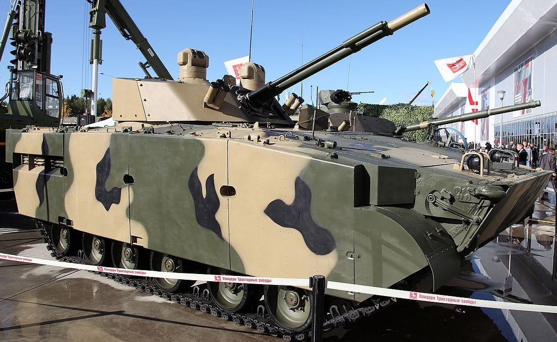 БМП-3М «Драгун» с модулем БМ 100+30.