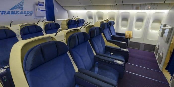 Бизнес класс Боинг-777