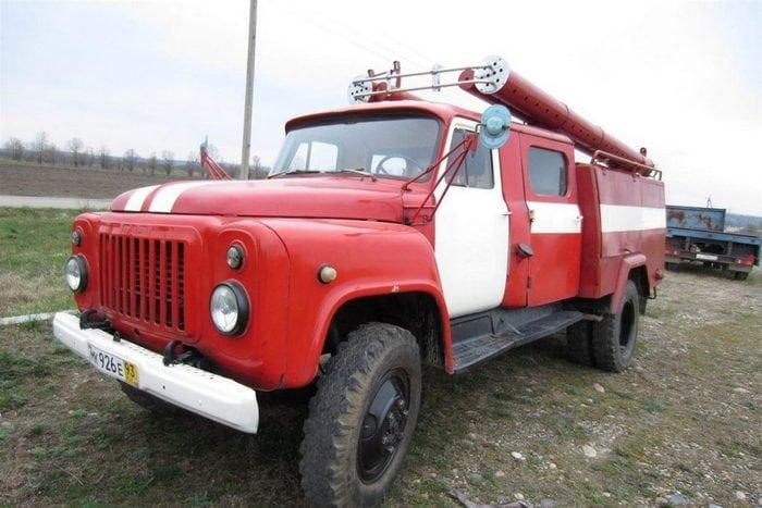 газ 53 пожарная