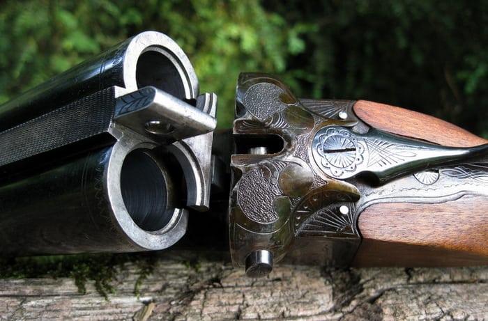 Каналы ствола ИЖ-54.