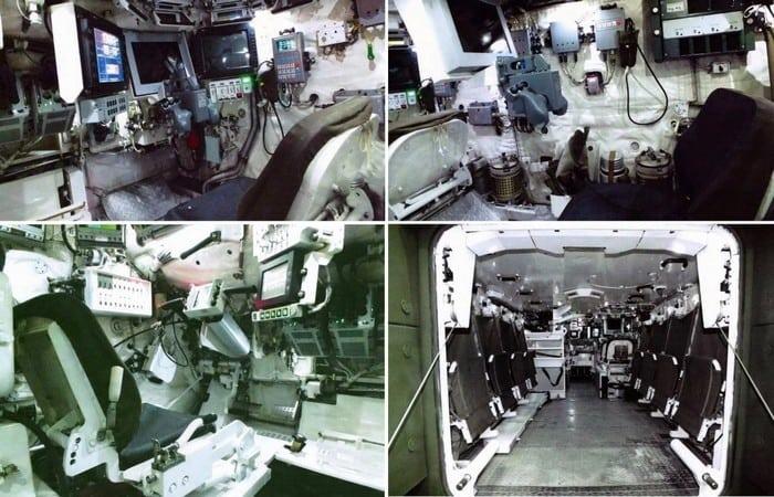 БМТ-15 изнутри