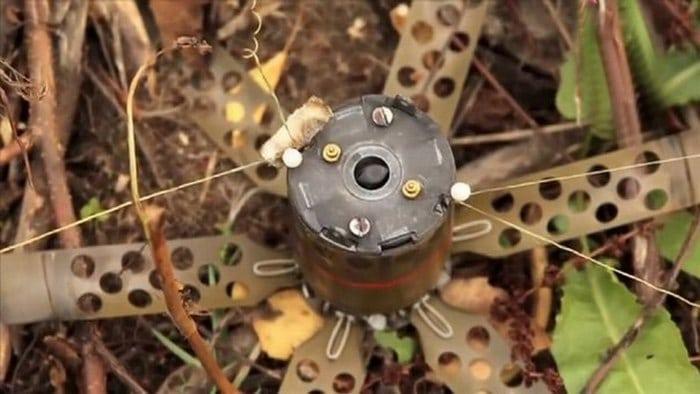 Осколочная противопехотная мина ПОМ-2