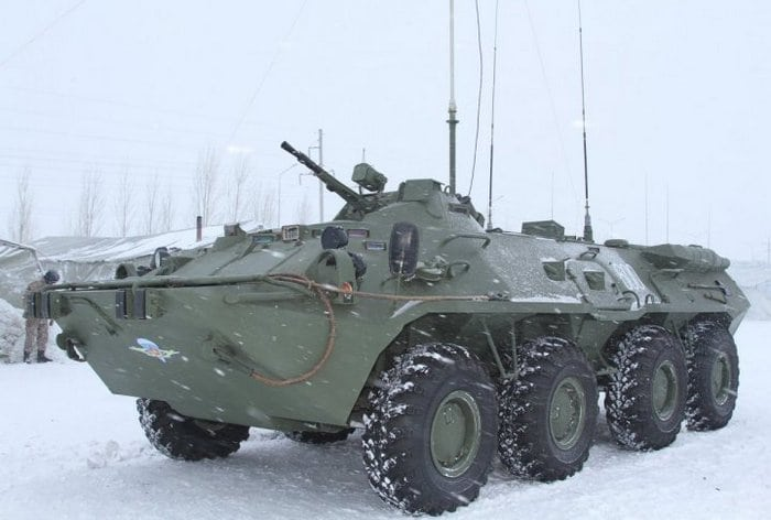 БТР-80к