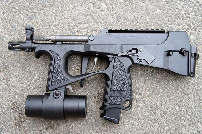 пистолет пулемёт пп-200