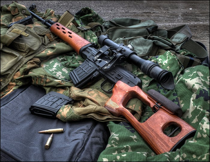 свд - винтовка драгунова
