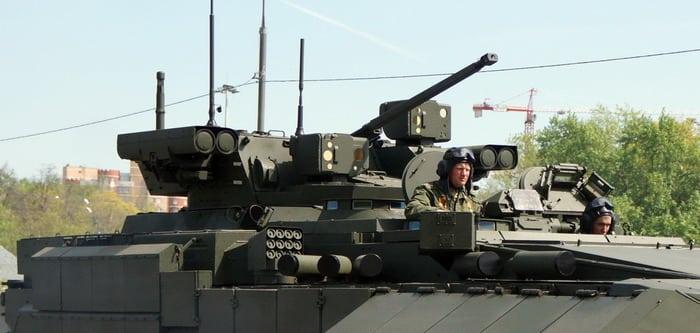 БМПТ-15 вооружение