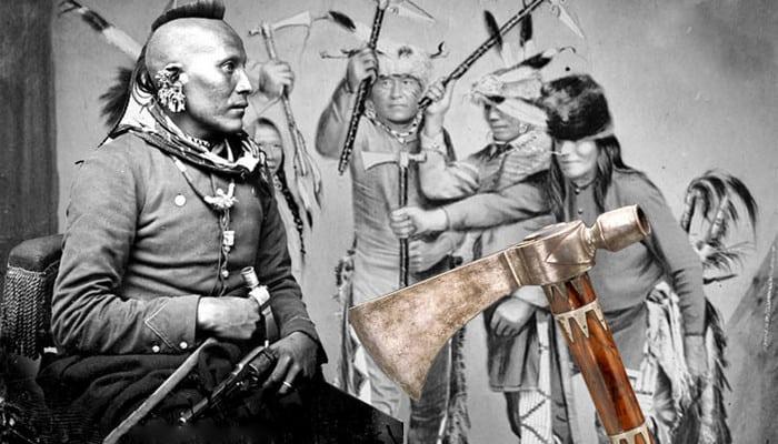 индейцы с томагавками