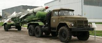 Автомобиль ЗИЛ-131 военный
