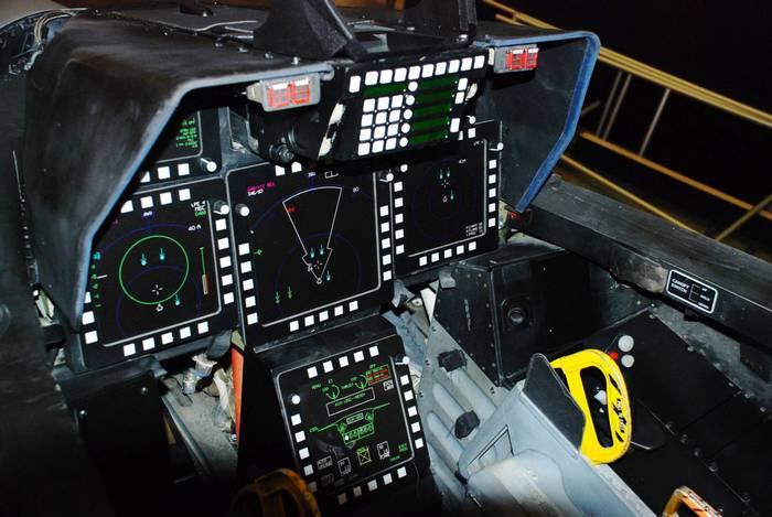 F-22 «Raptor» кабина