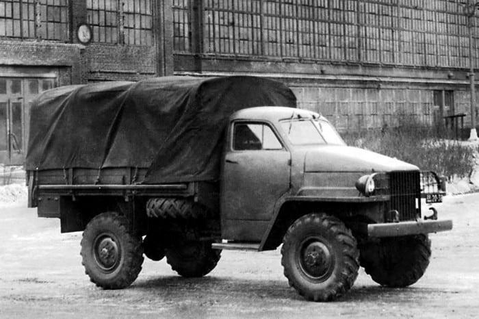 Прототип ГАЗ 63