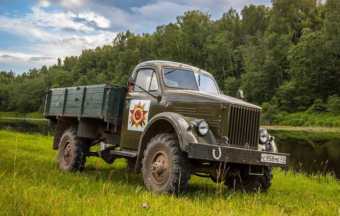 Полноприводный ГАЗ-63 А