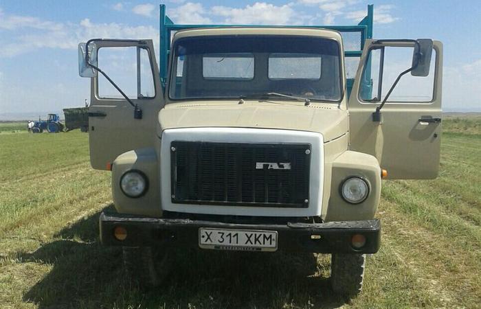 Газ 3307 кабина