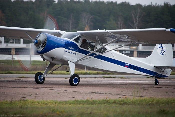 Як-12 Фэрофлот