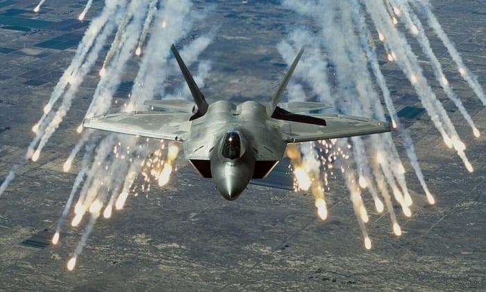 F-22 «Raptor» боевой вылет