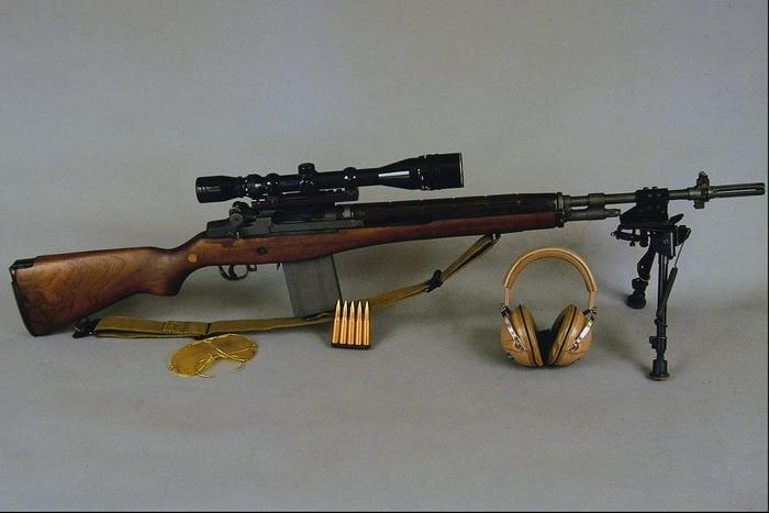 Снайперская Винтовка М14