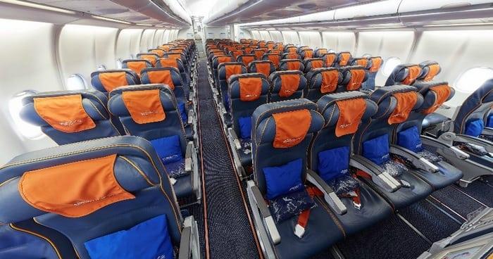 Лучшие места в самолете Airbus A330-300