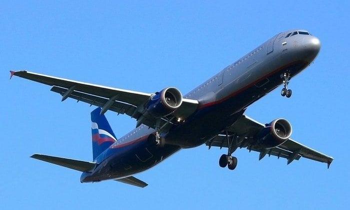 Самолет Эрбас 321