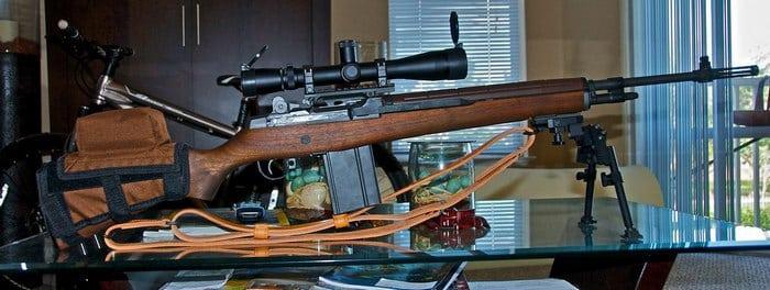 Снайперская м 14