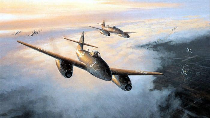 МЕ 262 бой в небе
