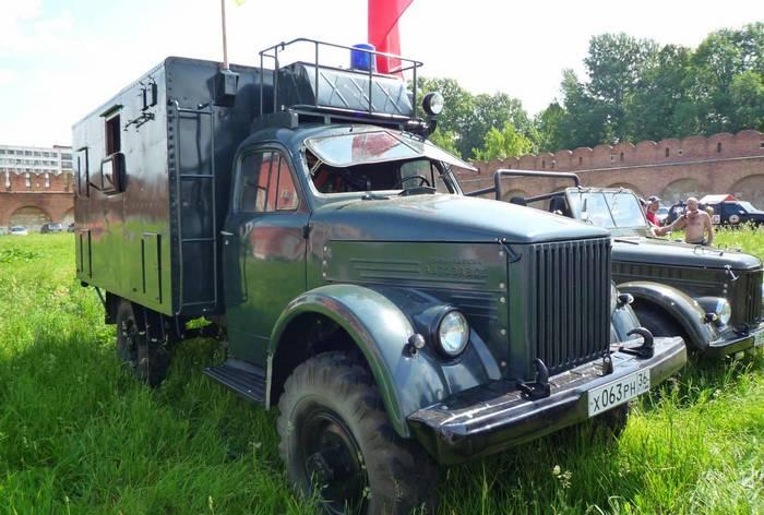 Газ 63 реставрированный