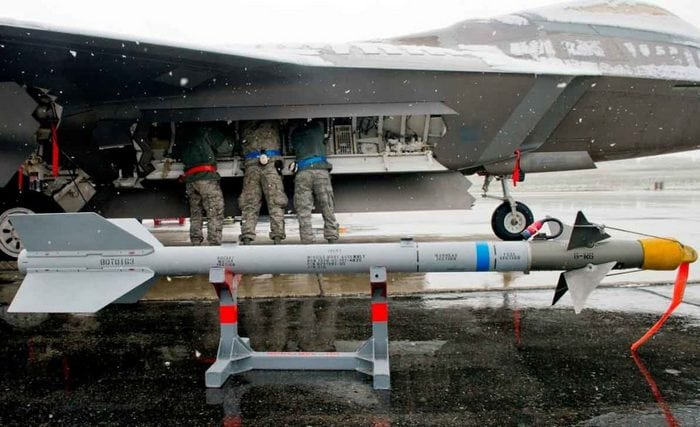F-22 Raptor вооружение