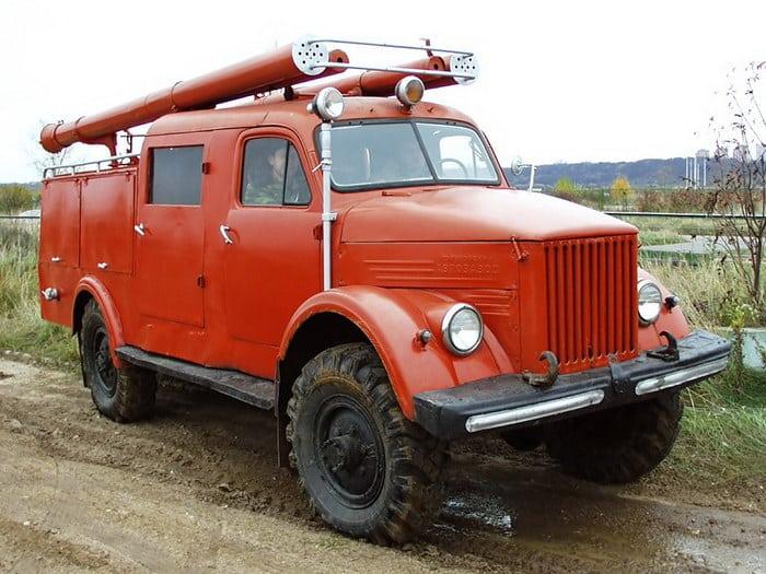 ПМЗ-19 на базе ГАЗ 63.