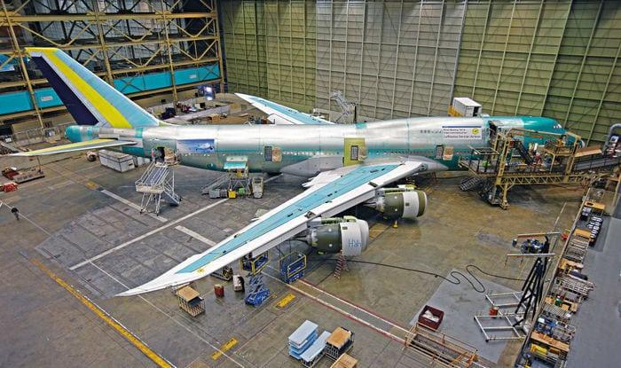 Boeing_747 на заводе