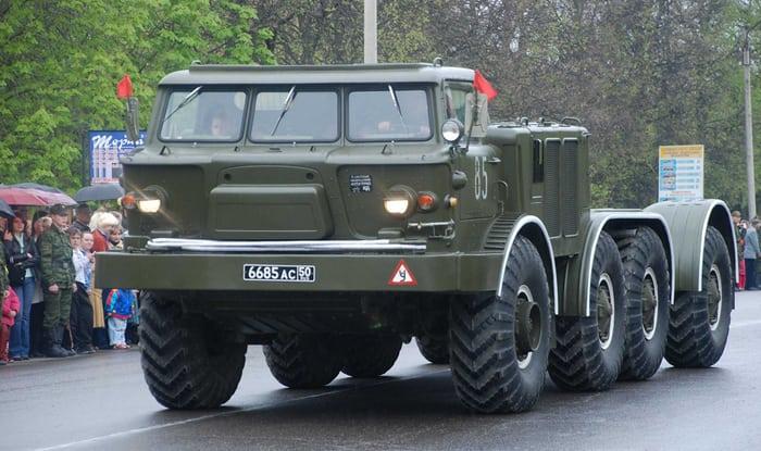 Зил-135 тягач