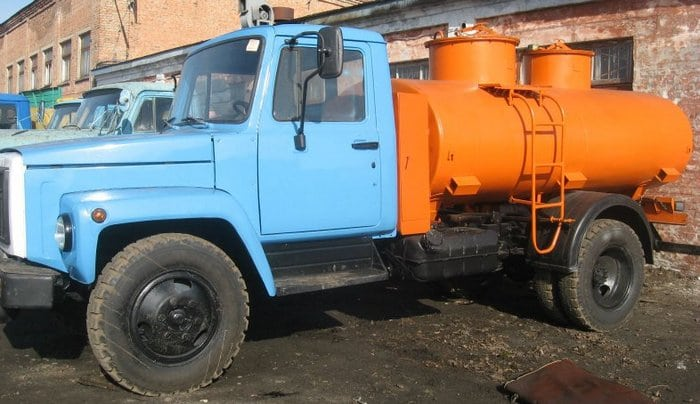ГАЗ 3307 цистерна