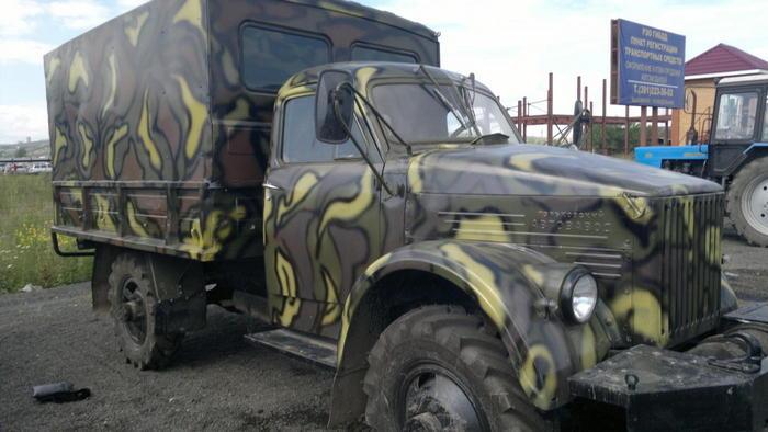 Газ-63 армейский