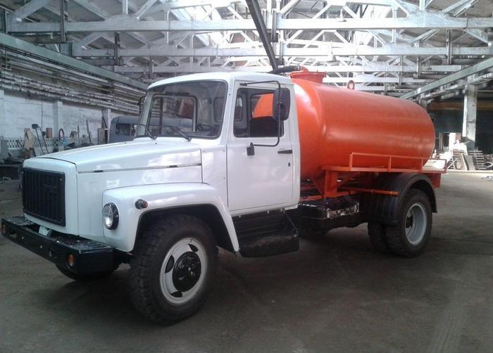 ГАЗ 3307 ассенизаторская