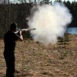 Выстрел с дымным порохом