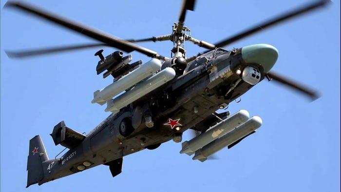 Ка-52 вооружение