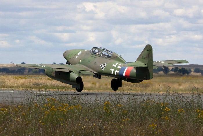 Me 262 взлёт