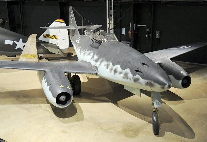Messerschmitt Me 262 в музее