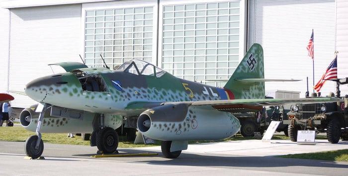 Реактивный самолёт ме 262