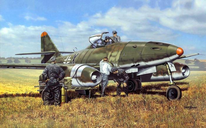 Ме-262 картинка