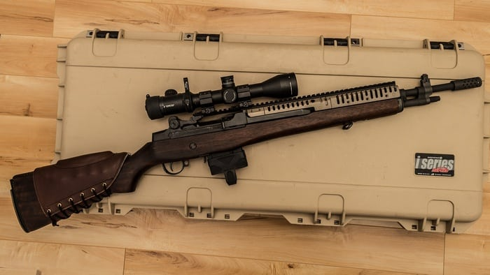 М-14 с оптикой