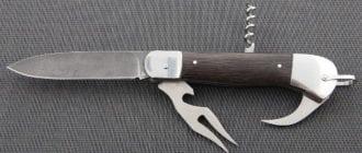Нож туриста складной
