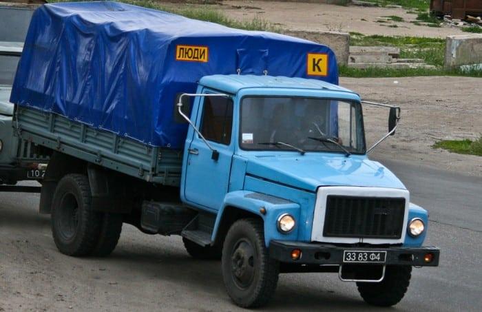 Газ 3307 военный