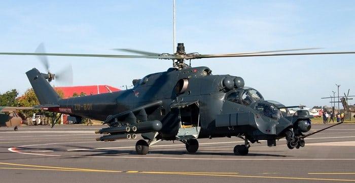 Вертолёт Ми 24