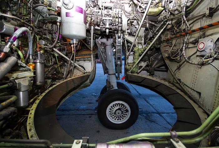 Боинг 737 Шасси