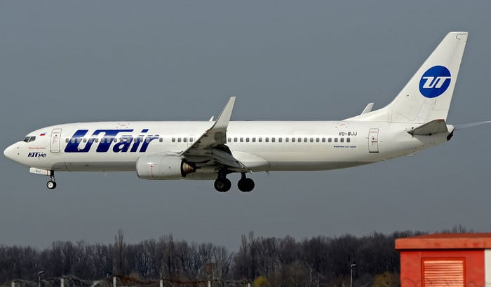 Boeing 737-800 ЮТэйр