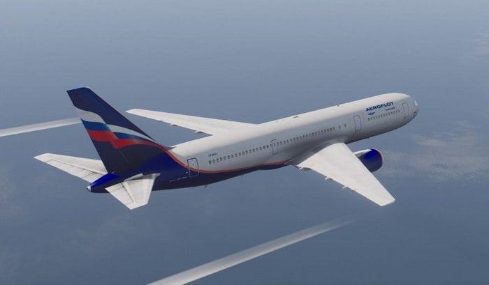 Боинг 767-300 полёт