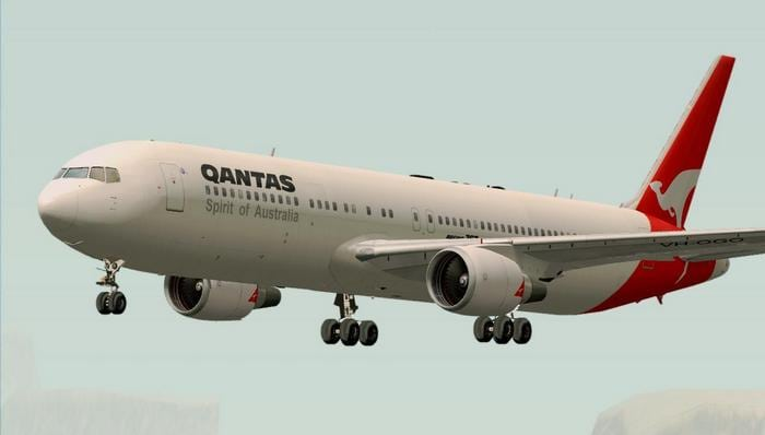 Самолёт Boeing 767-300ER
