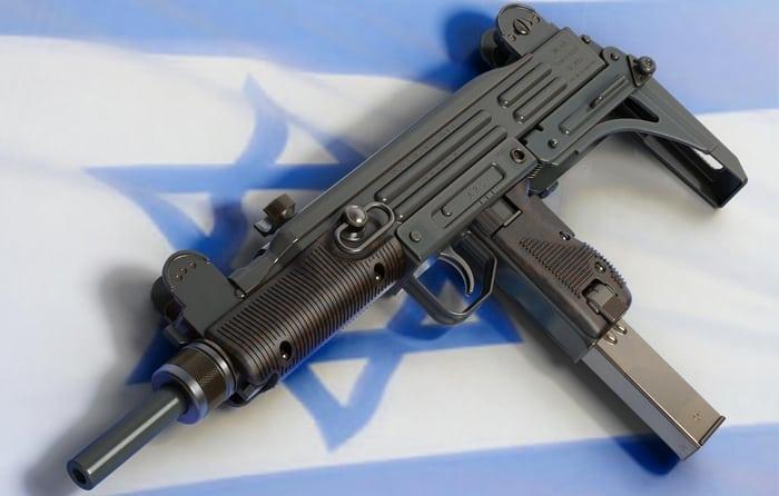 Израильский ПП Узи