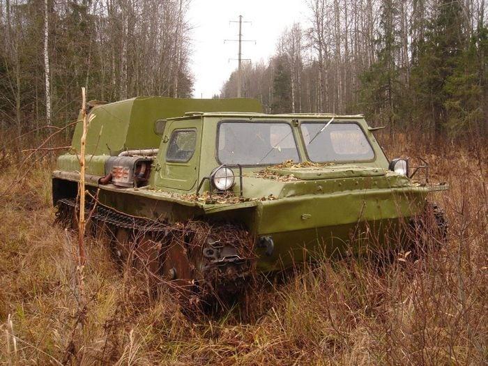 Гусеничный Транспортер Газ-71