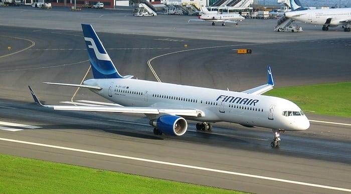 Боинг 757-200 взлёт