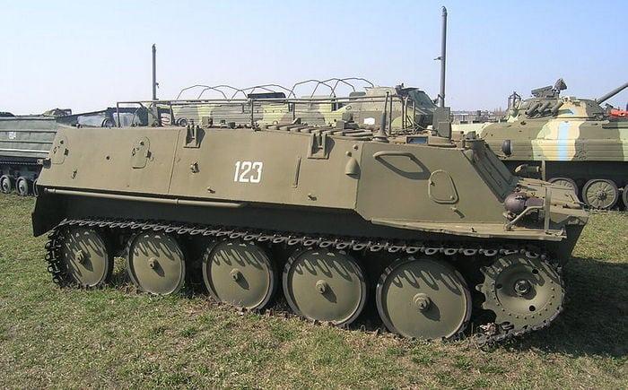 Десантируемый бронетранспортер ГТ-МУ